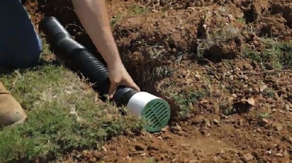 Drainage Problem Can Be Solved Using French Drain Home