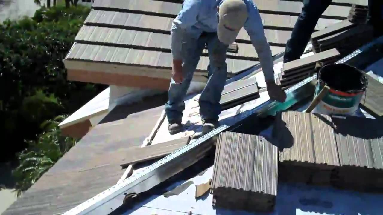 Attic Construction and Roof Insulation and Waterproofing
